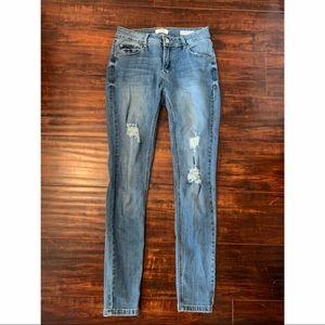 Kenzie Jeans Effortless Ankle Mid-Rise